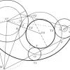 Circunferencias tangentes a tres circunferencias dadas