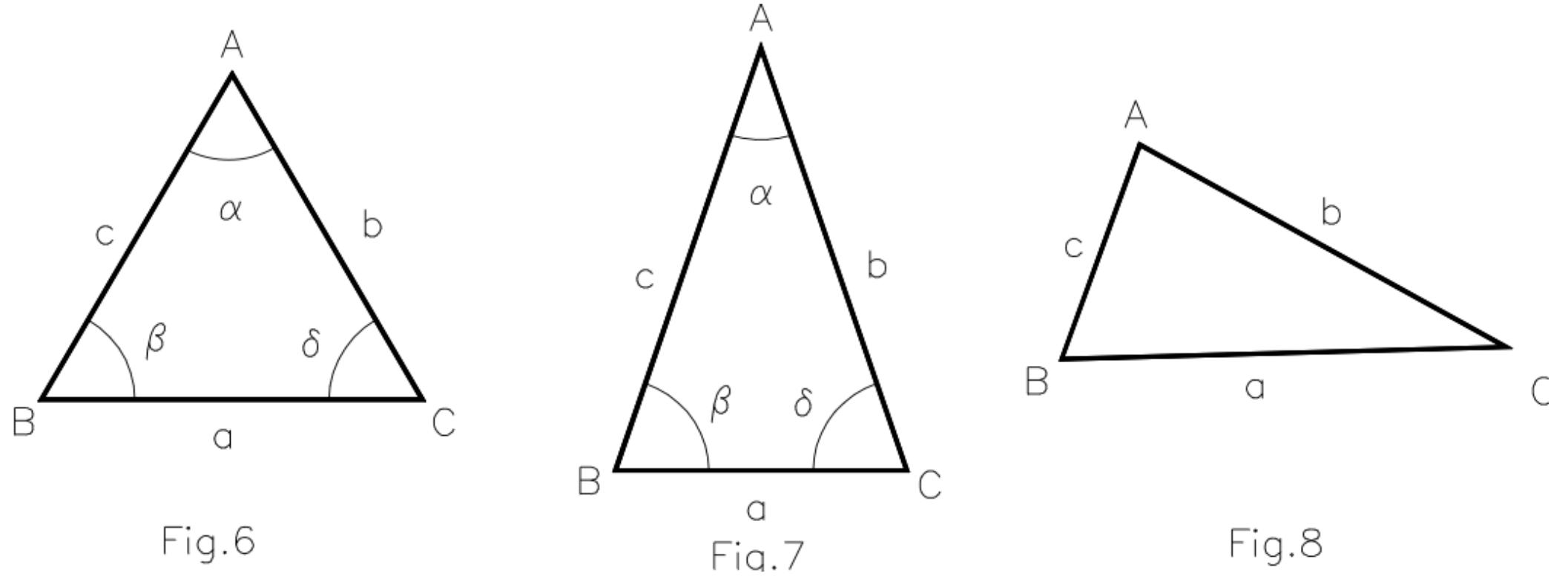 Triángulos. Clasificación según sus lados