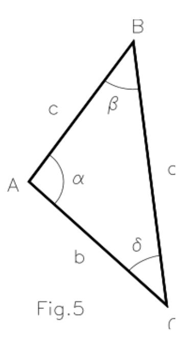 Triángulos. Elementos y designación