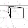 Perspectiva cónica, Método de coordenadas