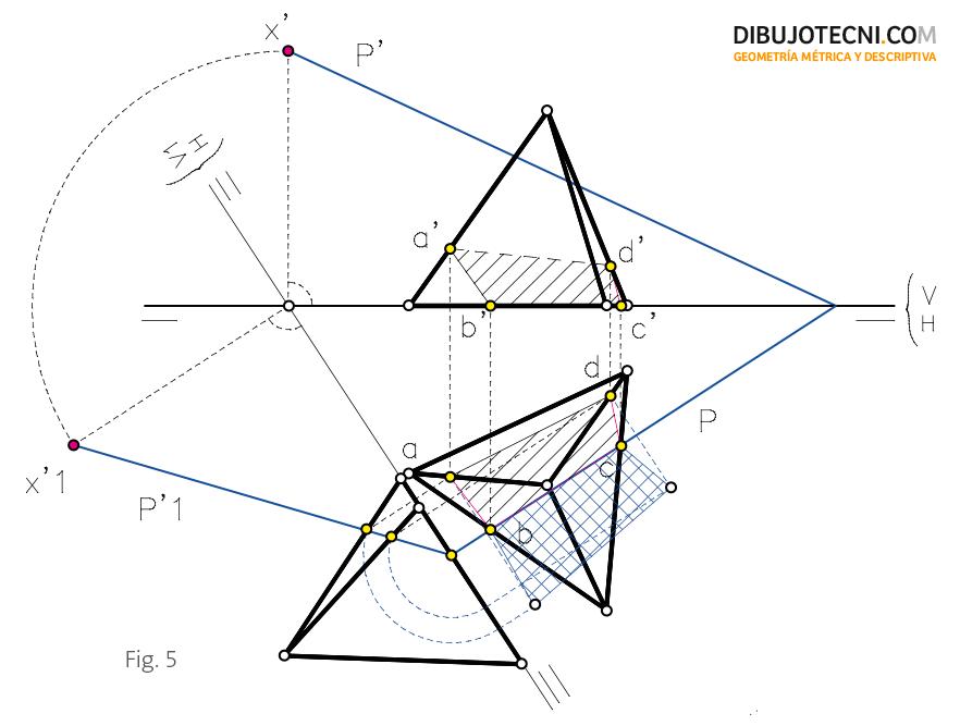 La Verdadera Magnitud: Tetraedro. Representación, Desarrollo Y Secciones Planas
