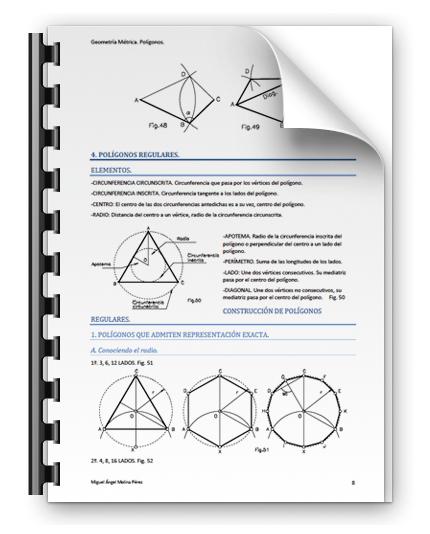 Apuntes de Polígonos. Geometríaa Métrica