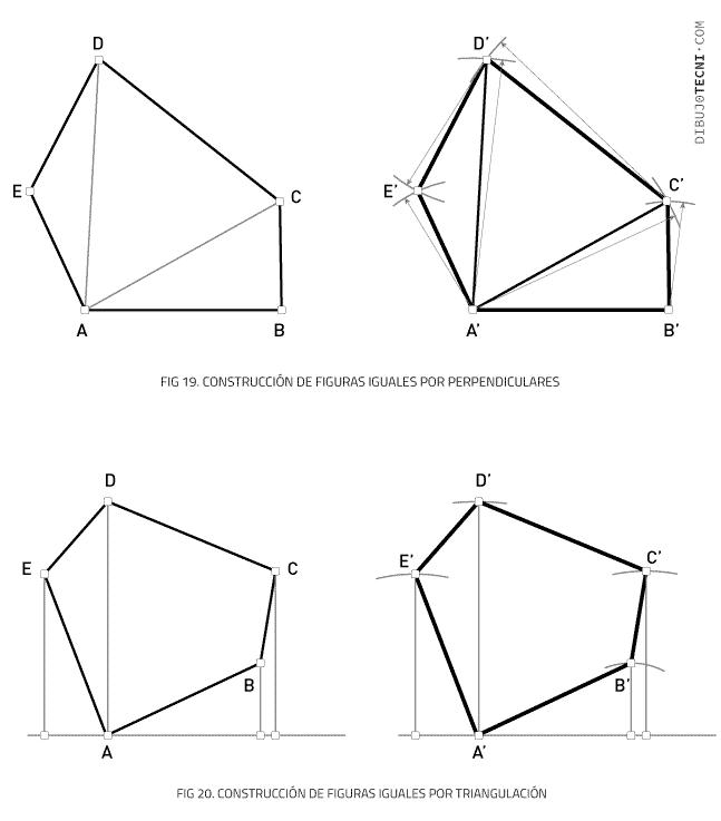 Transformaciones geométricas. Igualdad