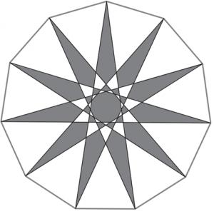Polígonos estrellados. Apuntes