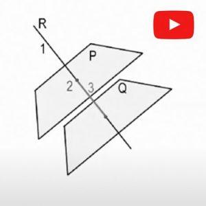 Sistema Diédrico. Distancia entre planos paralelos