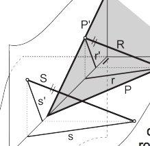 Apuntes paralelismo y perpendicularidad en Sistema Diédrico