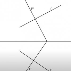 Perpendicularidad sistema diedrico