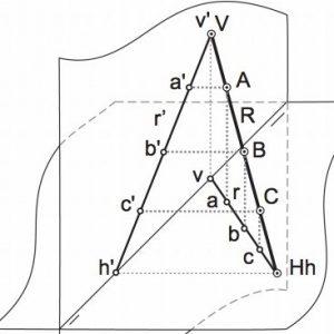 Introducción al diédrico: Los elementos básicos del sistema, alfabetos del punto, la recta y el plano y Contener puntos en rectas, rectas en planos, etc.